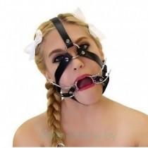 Сбруя на голову с расширителем рта