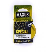 Презервативы Maxus Special №3 (точечно-ребристые)