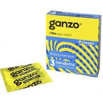 Презервативы GANZO Classic № 3 классические с обильной смазкой