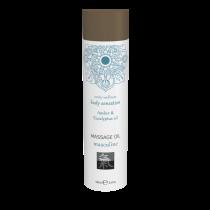 Массажное масло masculine - Амбра и масло эвкалипта 100 мл.