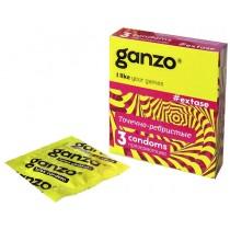 Презервативы Ganzo Extase №3 (Точечно-ребристые)