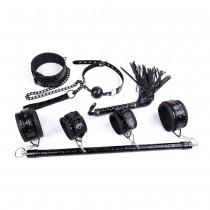 Дизайнерский черный БДСМ набор из 4 игрушек