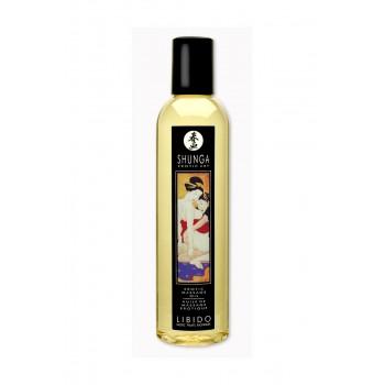Массажное масло Shunga Экзотические фрукты, возбуждающее, натуральное, 250 мл