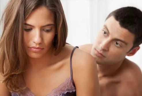 Женщины испытывают стыд во время половых отношений
