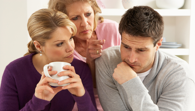Как ужиться с мужем в семье его родителей?